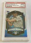 2012 Topps Chrome Value Box Refractor MBC1 Mickey Mantle PSA 10 Gem Mint Pop 8