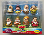 New In Box Fisher Price Little People Snow White and the Seven Dwarfs figures