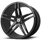 4 Asanti ABL 12 Orion 20x85 5x45 +38mm Gloss Black Wheels Rims 20 Inch