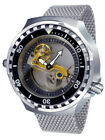 German Tauchmeister Diver watch automatic open Sapphire glass design T0310MIL