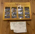 New In Box 1998 complete set Hot Wheels Treasure Hunt 1 12 W receipt Vintage