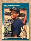 Rickey Henderson Cards, Rookie Card and Autographed Memorabilia Guide 43