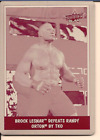 Brock Lesnar Cards, Rookie Cards and Autographed Memorabilia Guide 16