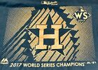 Houston Astros Mens T Shirt MLB 2017 World Series Champs Majestic 2XL New