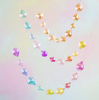 RAINDROP GARLAND Glitterville EVERYDAY IS A HOLIDAY Multi Color FUN EL0292 NEW
