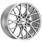 4 TSW Sebring 19x85 5x112 +42mm Silver Mirror Wheels Rims