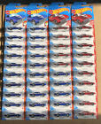 Lot Of 40 NEW Hot Wheels Blue  Red Custom Otto Muscle Mania Target Edition