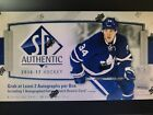 2016-17 Upperdeck SP Authentic Hobby Box Factory Sealed! Matthews Marner Barzal!