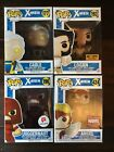 Funko Pop! X-Men Lot Cable Logan Juggernaut Angel MarvelCC Hot Topic Exclusive