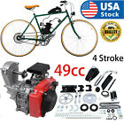 49CC Bicycle Motorized 4 Stroke Gas Petrol Bike Engine Motor Kit Chain Scooter