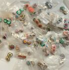 NEW 82 pairs Polymer Clay 21 mm Earrings Ear Clips Smiley Face Sun Yin Yang