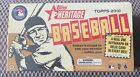 2010 Topps Heritage Baseball Product Review 29
