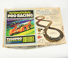 Vintage Tyco International Pro Racing Slot Car Track Set in Box Partial