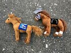 Lot 2 TY Beanie Baby Plushes Secretariat Kentucky Derby Racehorse Souvenir Tag