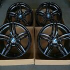 19 BMW 550i 525i 528i 650i 640i FACTORY OEM WHEELS RIMS BLACK 2012 2016 351