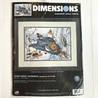 Dimensions Sunflower Snowman Counted Cross Stitch Kit Unopened 35137 Jane Maday