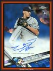 2017 Topps Chrome Baseball Complete Set Sapphire Edition Cards 21