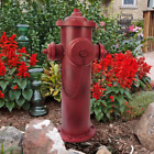 23 in H Vintage Metal Fire Hydrant Large Statue