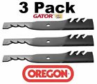 3 Pack Oregon 96 323 Gator G3 Mulcher Blade for Dixie 30227 50