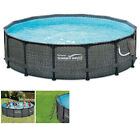 Summer Waves 14 x 48 Round Frame Above Ground Pool with Pump For Parts
