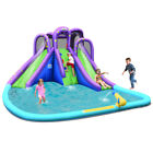 Inflatable Water Park Octopus Bounce House 2 Slides Climbing Wall Without Blower