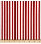 Cotton 1 4 inch Red White Stripes Fabric Whole Bolt 10 Yards 5 py