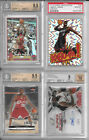2003-04 LeBron James RC Lot Finest Topps Chrome Refractor Kaboom L13 BGS PSA 10