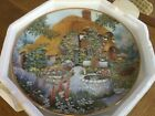 Lilliput Lane Franklin Mint Limited Edition Plate - Wishing Well Cottage