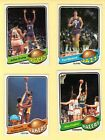 Beautiful 1979-80 Topps Basketball Set 1-132 Key Cards Are Scanned