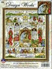 Design Works Nativity Story Cross Stitch Kit 16 X 20 NIB 14 ct FREE SHIPPING