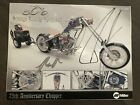 OCC Autographed 8X10 with MILLER WELDER BIKE Die Cast Motorcycle from Event 2003