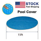 15 Ft Pool Covers Solar Protector for Home Above Ground Protection Swimming Pool