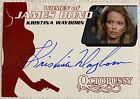 Top 10 James Bond Autographed Trading Cards 20