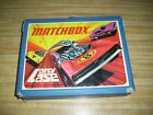 1971 MATCHBOX SUPERFAST 48 CAR COLLECTOR CASE WITH 38 ASSORTED VEHICLES