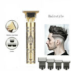 T Blade Hair Clippers Cordless Trimmer Hairstyle Barber Cutting Machine T9 C7W7