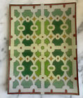 John Derian Decoupage Geometric Design Tray Mint Condition 10 by 8
