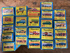 Collection of 22 Old Matchbox Superfast Diecast Cars 95+ Mint In Boxes 1960s