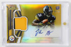 Leveon Bell Auto Le'Veon Topps Finest Refractor Rookie RC 04 50