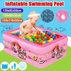 Inflatable Children Adult Kids Family Swimming Pool Fun Water Play