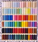 96 NEW Different colors GUTERMANN 100 polyester sew all thread 110 yd spools