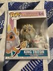 POP FUNKO THE LITTLE MERMAID KING TRITON Exclusive NIB WITH PROTECTOR