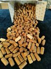 Lot of 200 Natural Used Wine Corks for Crafting No Synthetics Ships Free