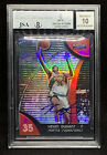 2007 Topps Finest #71 Kevin Durant Refractor Auto RC Rookie Card BGS 8 10 Pop 1!