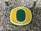 Native American Oregon Ducks Beaded Necklace and Medallion