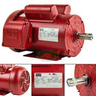 15 HP Electric Motor 145T Frame 1745 RPM Single Phase Farm Duty Air Compressor