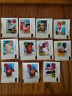 1969 TOPPS DECAL BASEBALL LOT (11) - GOOD - EX