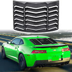 Rear Window Louver for Chevy Camaro 2010 2015 ABS Windshield Sun Shade Cover