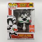 Funko POP Pepe Le Pew #395 Looney Tunes 2018 Summer Convention CREASED BOX