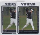 Chris Young Baseball Cards: Rookie Cards Checklist and Buying Guide 21