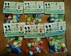 6 Bags Old Alox Toy Marble Bag featuring Comic strip characterNOS